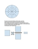 Multiplying fractions and whole numbers spinner game
