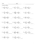 Multiplying mixed fractions 2