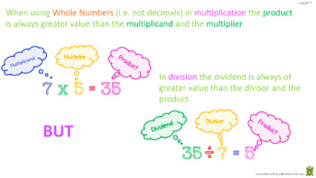 Multiplying or Dividing To Solve Word Problems (4.OA.2) PowerPoint