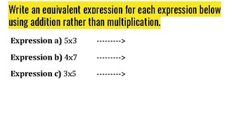 Multiplying positive and negative integers