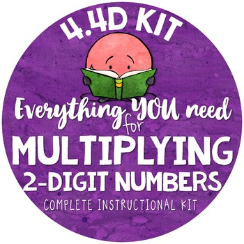 Multiplying two-digit by 2-digit Numbers TEKS 4.4D Partial Products Algorithm