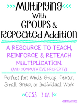 Multiplying using Groups & Repeated Addition