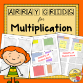 Arrays - PreMade Blank Grids for Multiplication