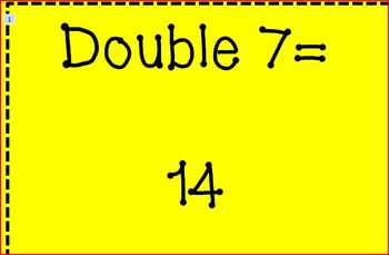 Multiplying with Doubles