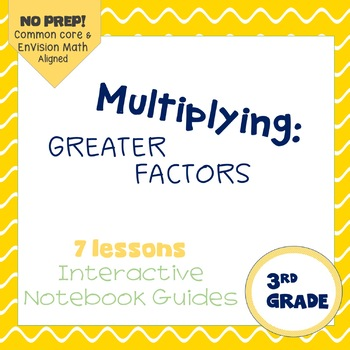 Multiplying with Greater Factors (enVision Topic 18) Inter