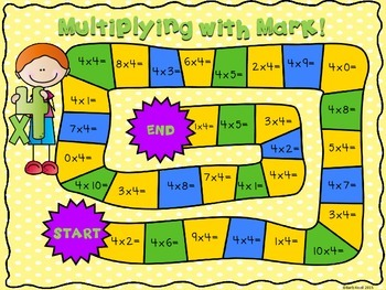Multiplying with Molly!  Multiplication Games