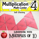 Multiplication Multiplying with Multiples of Ten Math Center