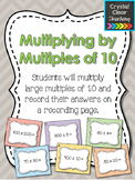 Multiplying with Multiples of 10 Task Cards