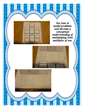 Multiplying with Multiples of Ten