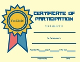 Multipurpose Certificate Of Participation