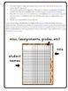 Multipurpose Checklists for Classroom Management gradebook