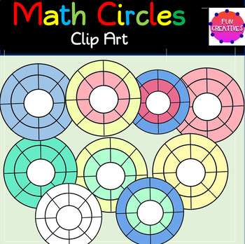 Multipurpose Circle Clip Art $1.00