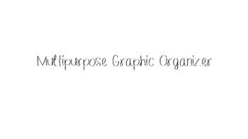 Multipurpose Graphic Organizer