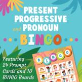 Multipurpose Language Activities: Present Progressive and