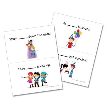 Multipurpose Language Activities: Verb, Preposition, and Pronoun Party Bundle!