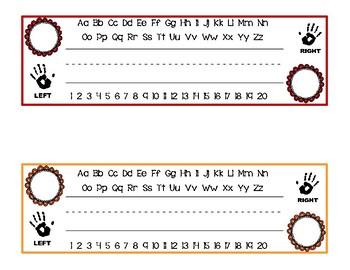 Multipurpose Primary Name Tags / Nameplates