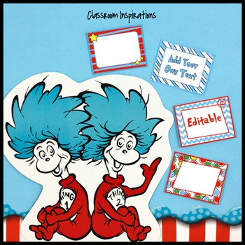 Multipurpose Rectangle Labels – Coordinates with Seuss-like Colors Class Theme