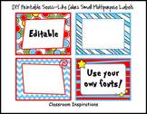 Multipurpose Rectangle Labels – Coordinates with Seuss-lik