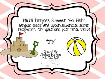 "Multipurpose Summer ""Go Fish"""