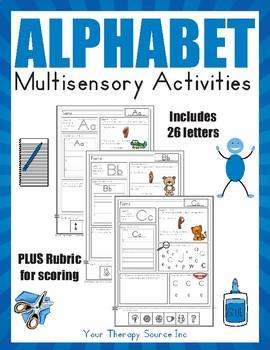 Multisensory Alphabet Activities