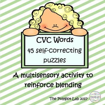 Multisensory CVC puzzles