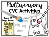 Multisensory Activities to Practice CVC Word Fluency and Blending