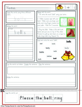 Multisensory Handwriting Activities for December - No Prep Needed