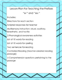 Multisensory Lesson Plan for Teaching the Prefixes e- and ex-