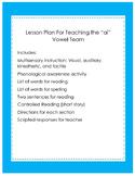 "Multisensory Lesson for teaching ""ai"" vowel team"