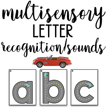 Multisensory Letter Recognition and Letter Sounds