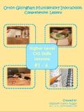 Multisensory Orton Gillingham Lessons #1-6 Bundle: Upper Level Skills