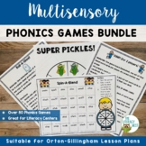 Orton-Gillingham Activities: Multisensory Phonics Games WITH DIGITAL VERSION