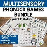 Orton-Gillingham: Multisensory Phonics Games Activities  