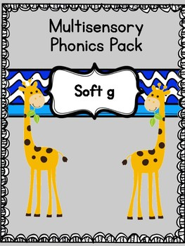 Multisensory Phonics Pack, Soft G