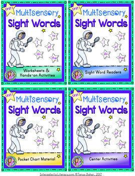 UNIT 1 BUNDLE: Multisensory Sight Words