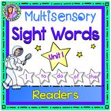 UNIT 1 Multisensory Sight Words -  Sight Word Readers