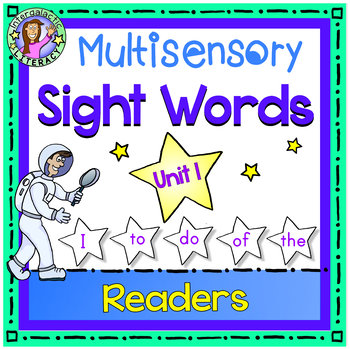 UNIT 1 Multisensory Sight Words - I To Do Of The - Sight W