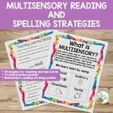 Multisensory Reading and Spelling Strategies | Orton-Gilli