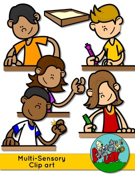 Multisensory Spelling Techniques Clip art