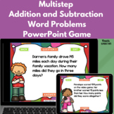 Multistep Addition and Subtraction Word Problem PowerPoint Game