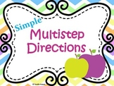 Multistep Directions