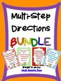 Multistep Directions Bundle