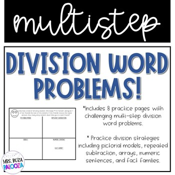 Multistep Division Word Problems