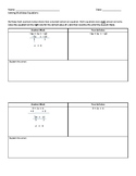 Multistep Equations