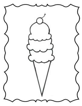 Multistep Ice Cream Cone: Temporal, Spatial, & Sequential Directions