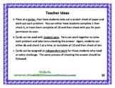 Multistep Math Problems QR Code Cards; STAAR Readiness QR