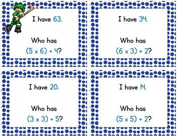 Multistep Math Task Cards / Winter Themed