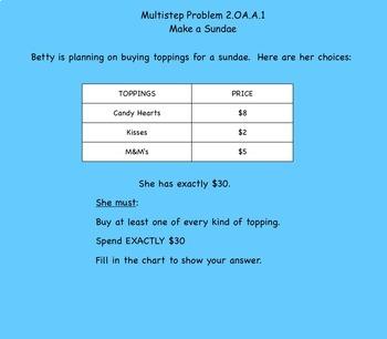 Math Repeated Addition Make a Sundae Free