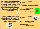 Multistep Math Word Problems HARD