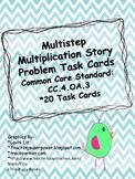 Multistep Multiplication Task Cards CC. 4OA. 3